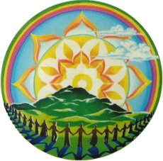 Dawn of Unity sticker available from natures-energies.com