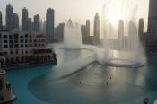 The Dubai Fountain. The biggest fountain in the world