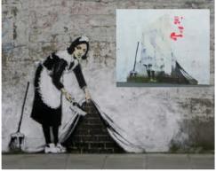 banksy maids